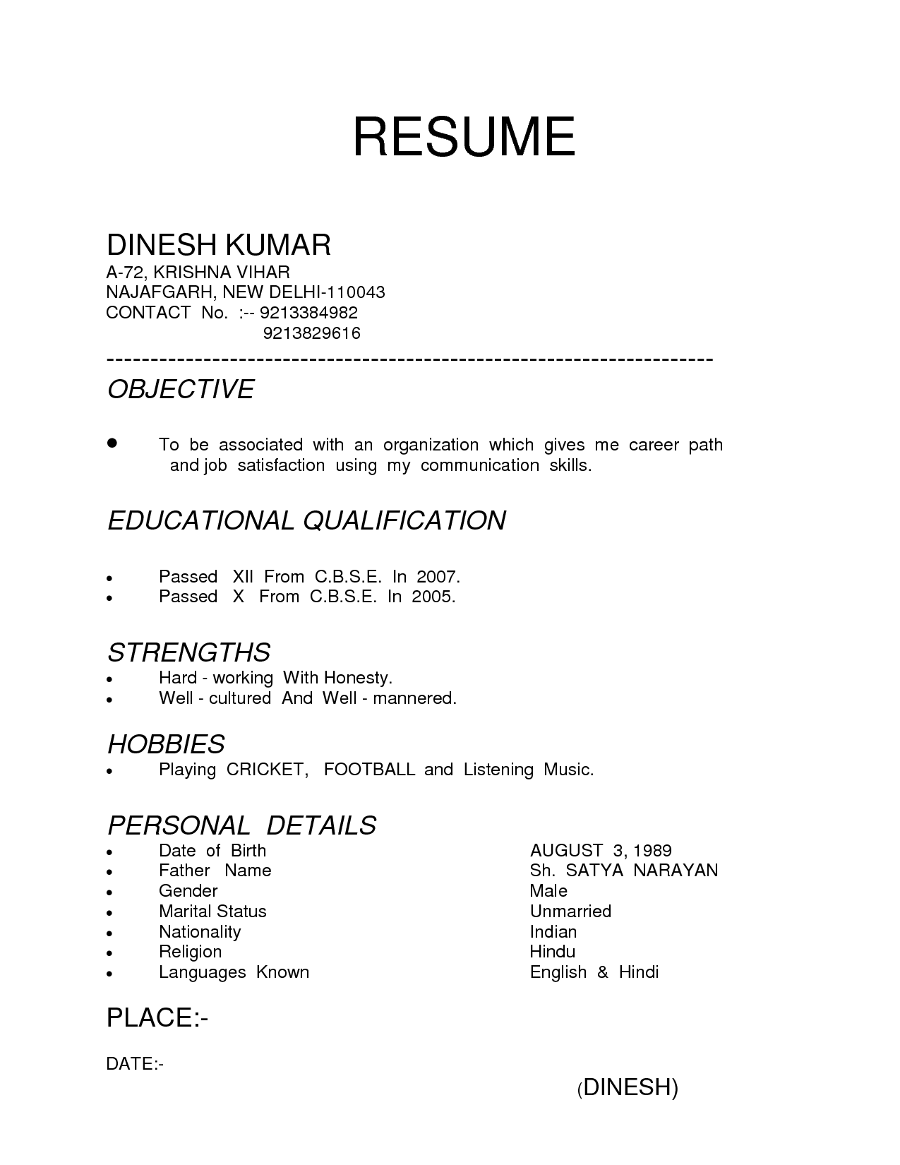 How To Type A Resume Best Types Of Resumes To Use Inspirational 4 Different Types Of Resumes Of Best Types Of Resumes To Use how to type a resume|wikiresume.com