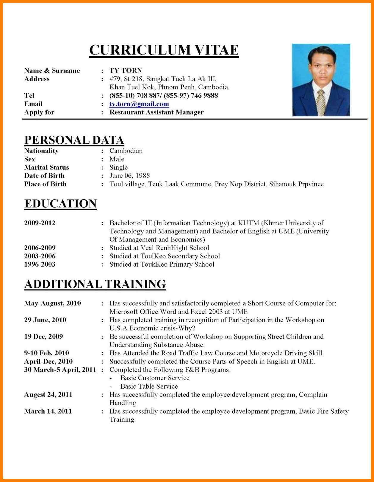 How To Write Resume How To Write A Cv Example How To Write Cv Resume Resume Cv Sample Cv Resume Sample Examples How To Write A Resume Example how to write resume|wikiresume.com