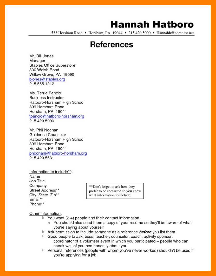 References For Resume 9 10 Resume Include References Maizchicago
