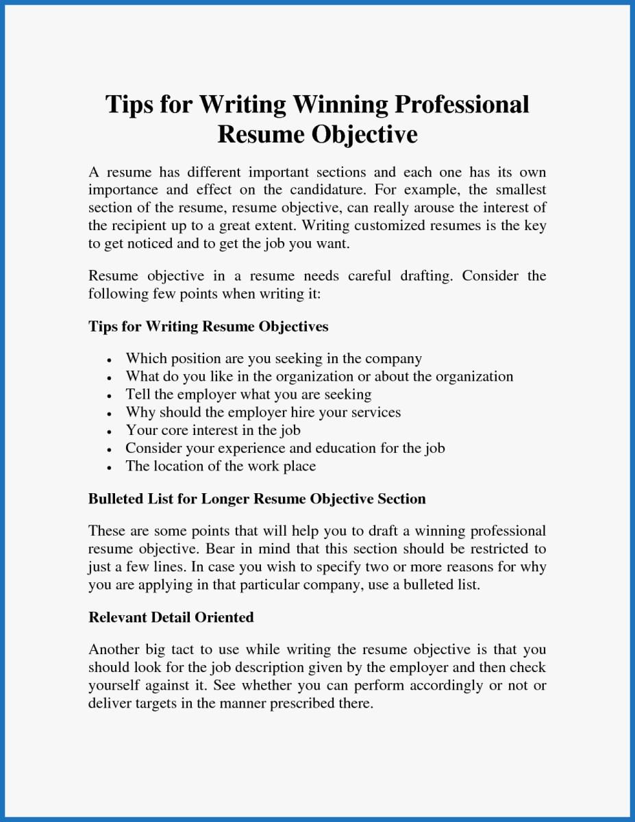 Resume Objective Example Resume Objective Examples Amazing Professional Resume Objective Samplesprofessional Resume Of Resume Objective Examples resume objective example|wikiresume.com