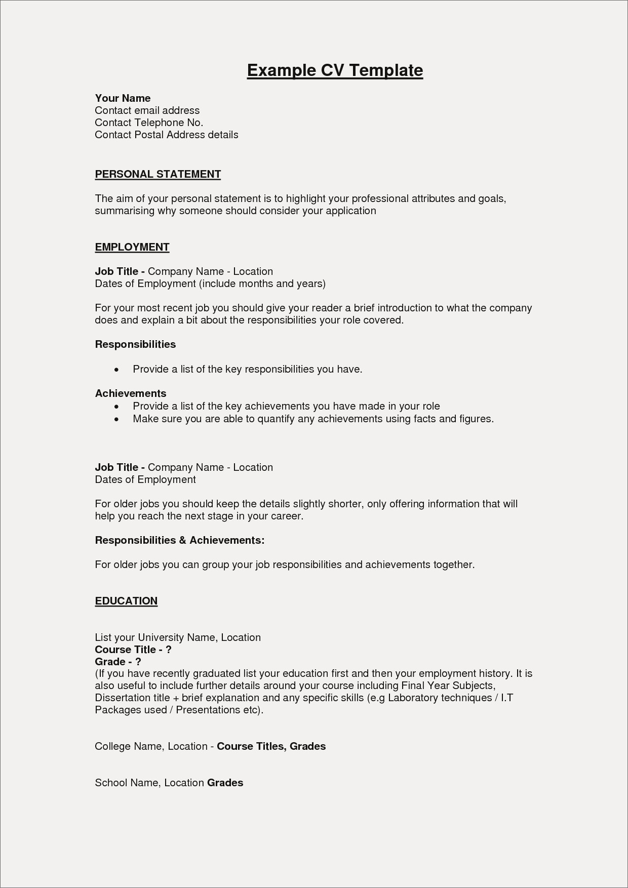 Resume Summary Examples Sample Resumes For Freshers Fresh Resume Summary Examples For