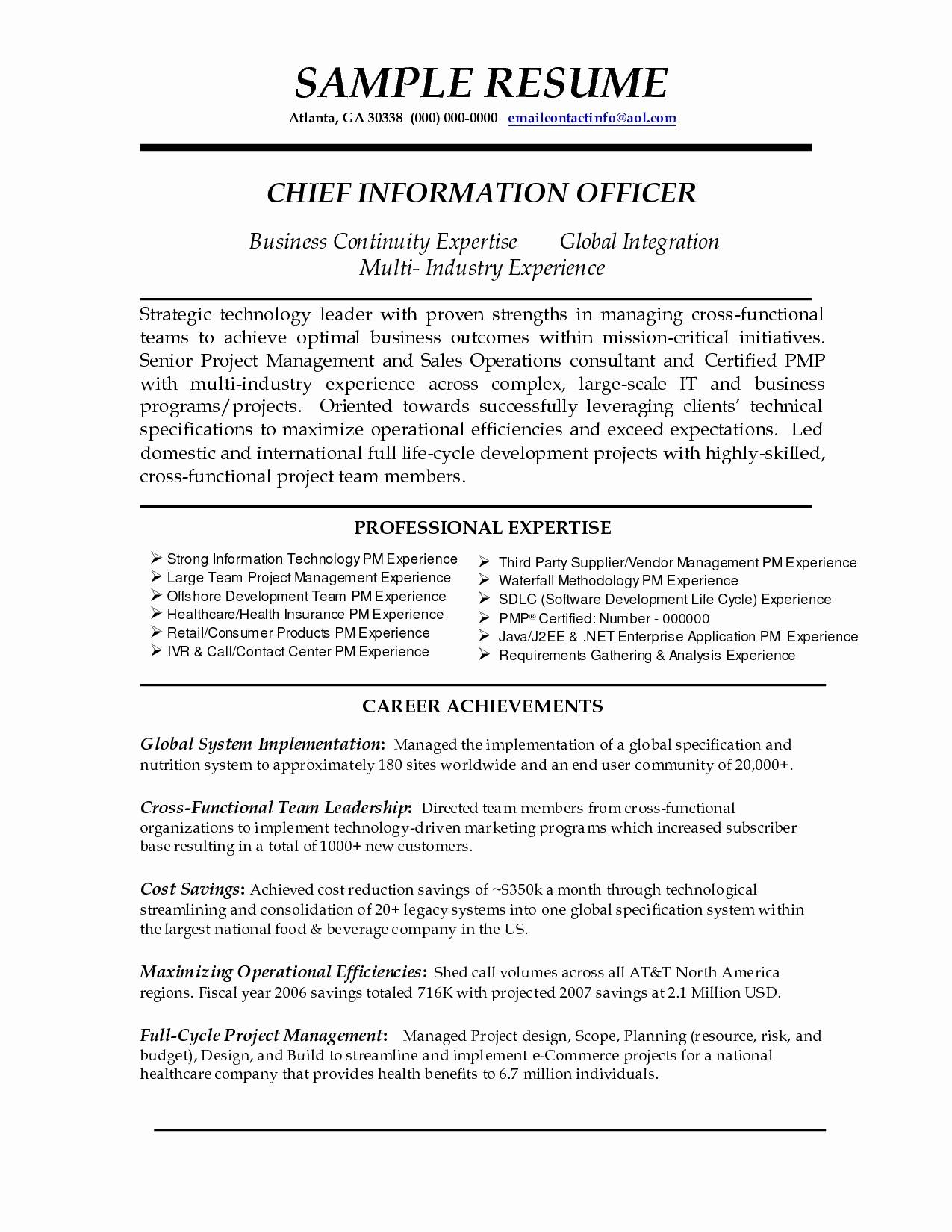 A Guidance To Write A Good Resume Summary Statement