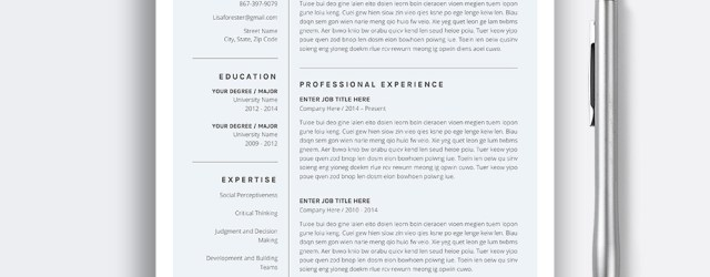 Resume Template Word Allcupation Resume Templates Images Lisa 1 Page Resume resume template word|wikiresume.com