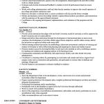 Sample Nursing Resume Faculty Nursing Resume Sample sample nursing resume|wikiresume.com