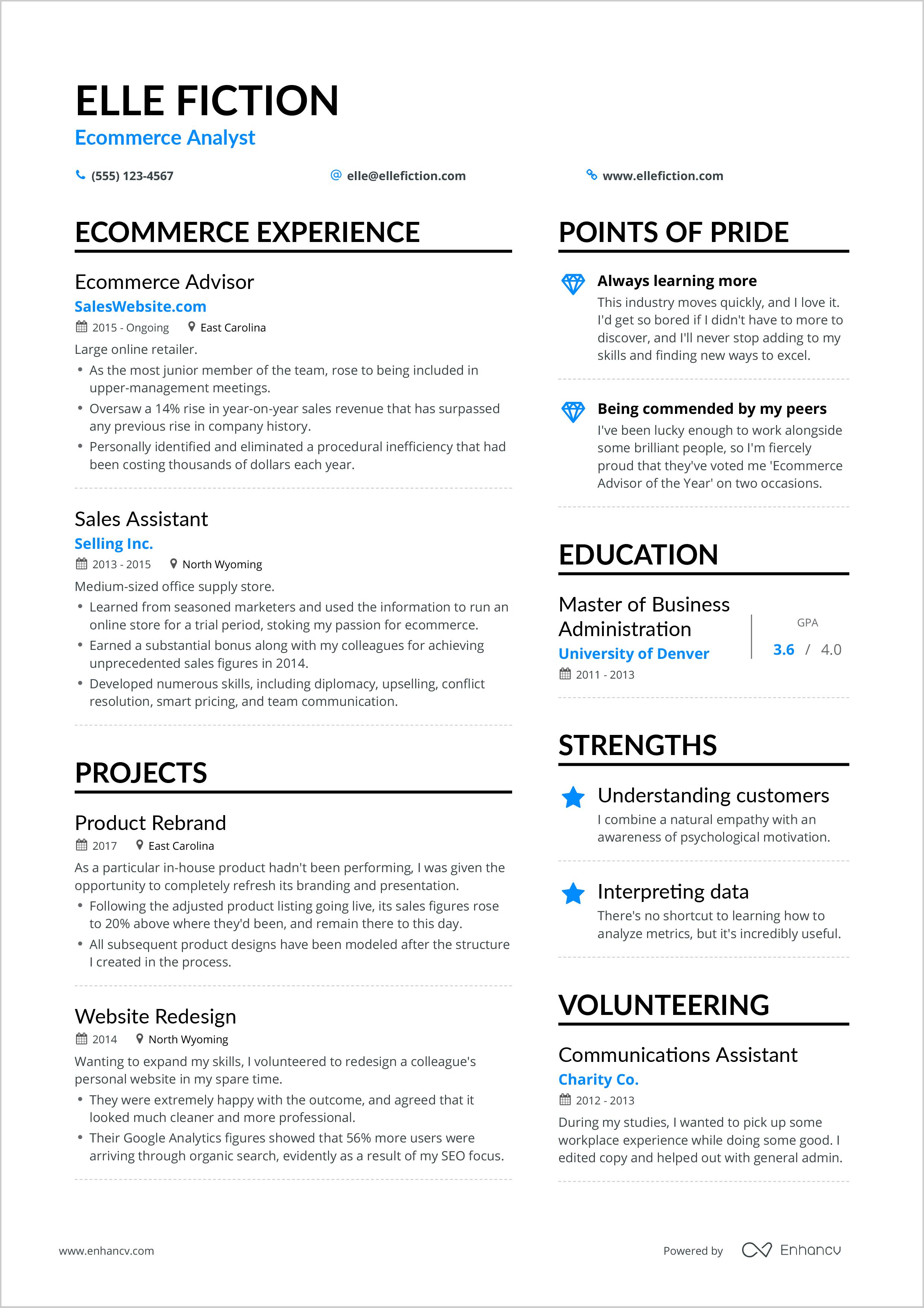 skills on a resume ecommerce resume  wikiresume