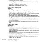 Social Work Resume Clinical Social Worker Resume Sample social work resume|wikiresume.com