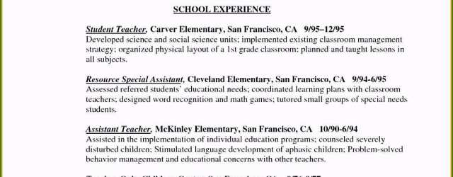 Teaching Resume Elementary What Does A Resume Need Stunning 6 Elementary Teacher Resume Example Free Samples Of What Does A Resume Need teaching resume elementary|wikiresume.com
