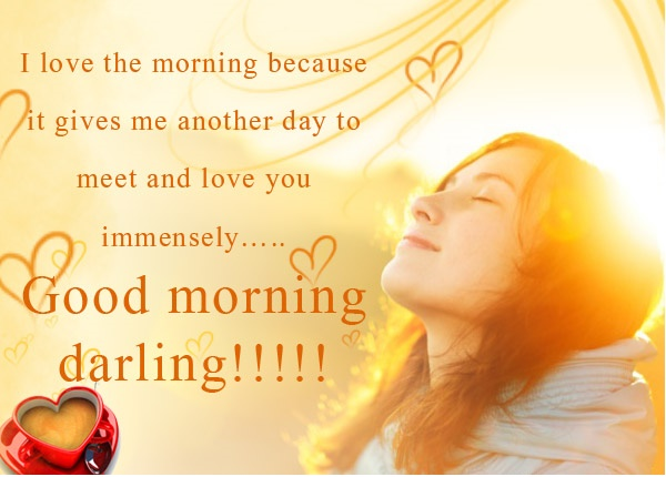 Romantic gud mrng sms