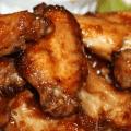 Sweet Sticky  Chicken Wings : Full Recipe