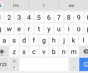 Add Persistent Number Row At Android's Gboard Keyboard