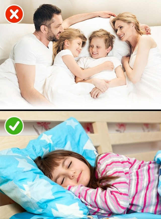 Keep your bedroom child-free