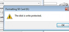 Best Method to Format Write Protection from USB Drives Windows 7/10/8