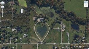 Heart-Shaped Lake
