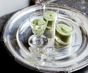 Soup on Sunday: Zucchini Soup with Crème Fraîche
