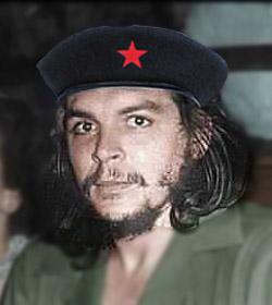 Che Guevara Color Photo