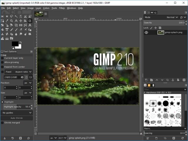 Công cụ sửa ảnh GIMP - Ảnh 2