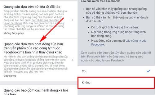 Cách chặn quảng cáo facebook cho điện thoại