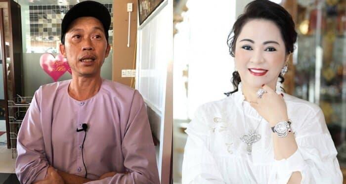 drama Phương Hằng và Hoài Linh