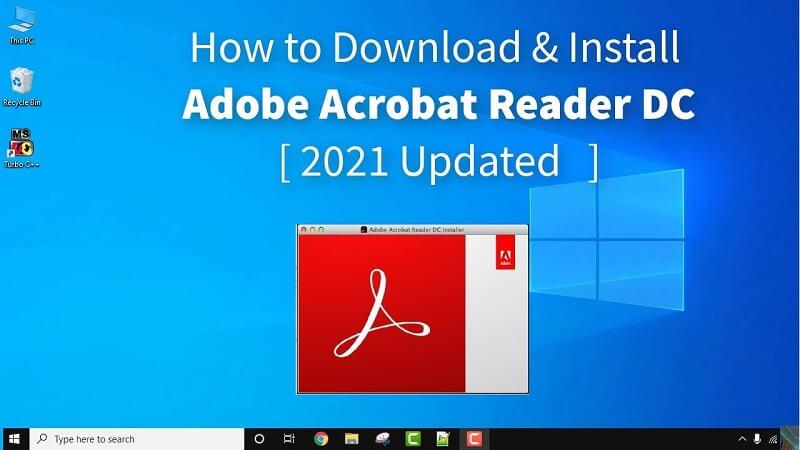 Phần mềm đọc PDF cho máy tính