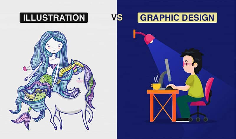 Điểm phân biệt Illustration với Desgin là gì