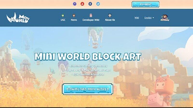 Tải game Mini World Block Art