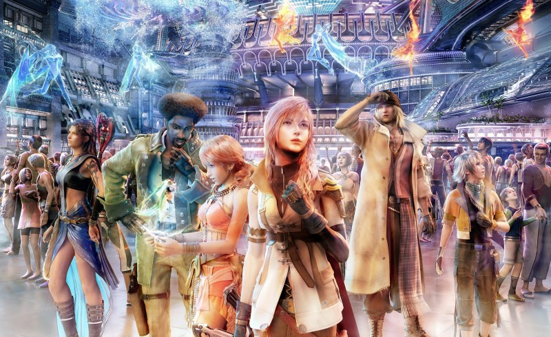 Final Fantasy XIII Personnages WikiSquare