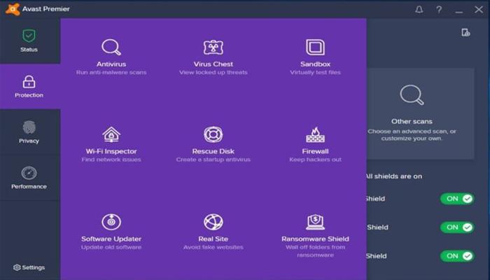 برنامج أفاست بريمير أنتي فروس Avast Premier Antivirus 2020