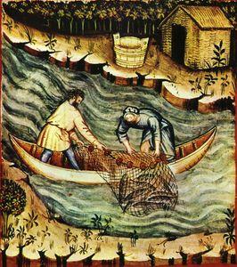 36-pesca,Taccuino Sanitatis, Casanatense 4182. tav. 157 1.jpg