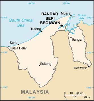 Brunie Map