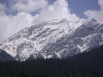 View from the plains of Baisaran, near Pahalgam
