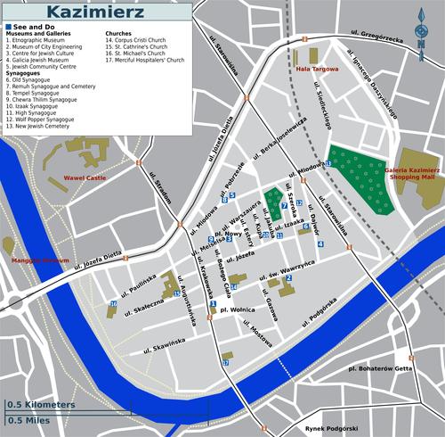 Krak 243 W Kazimierz Wikitravel