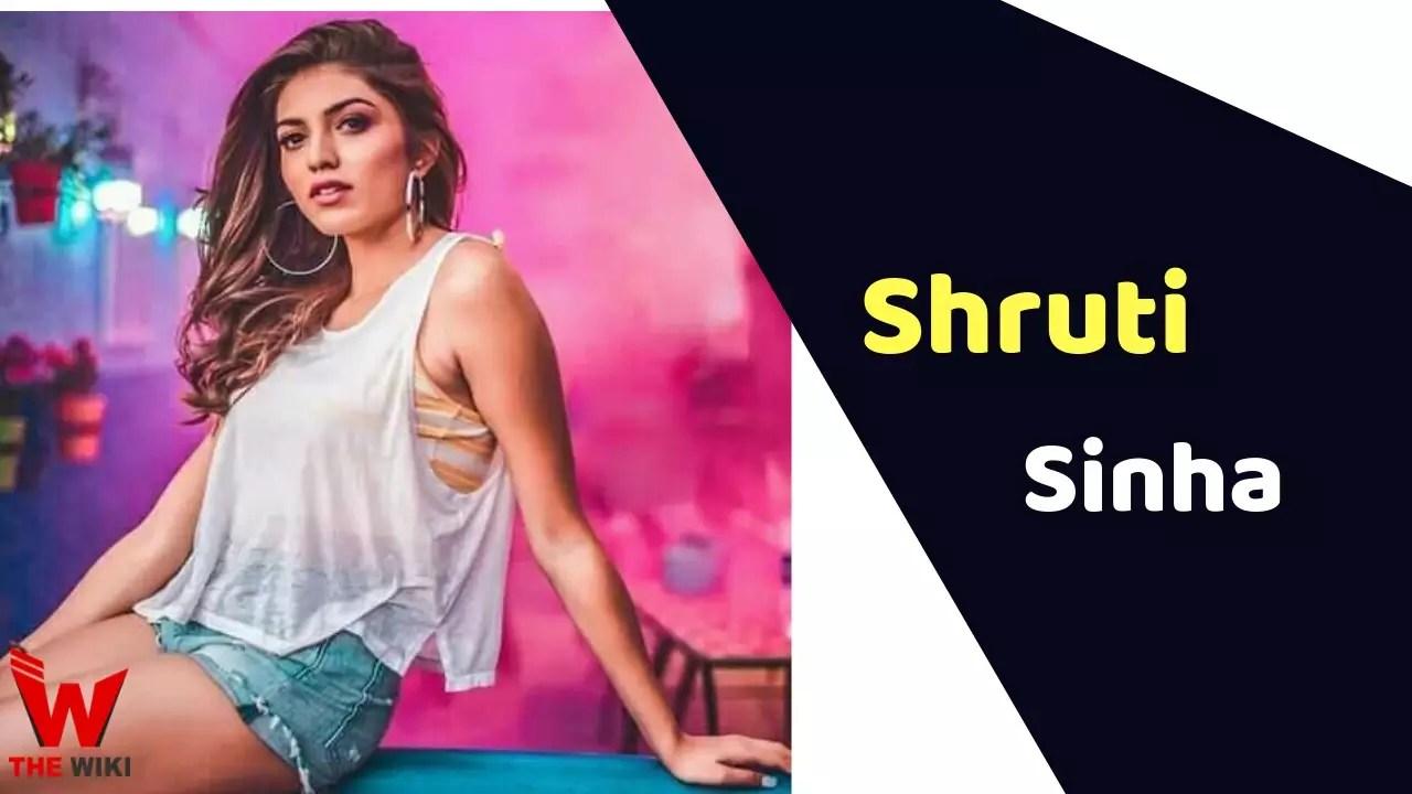 Shruti Sinha (Splitsvilla 11 Winner)