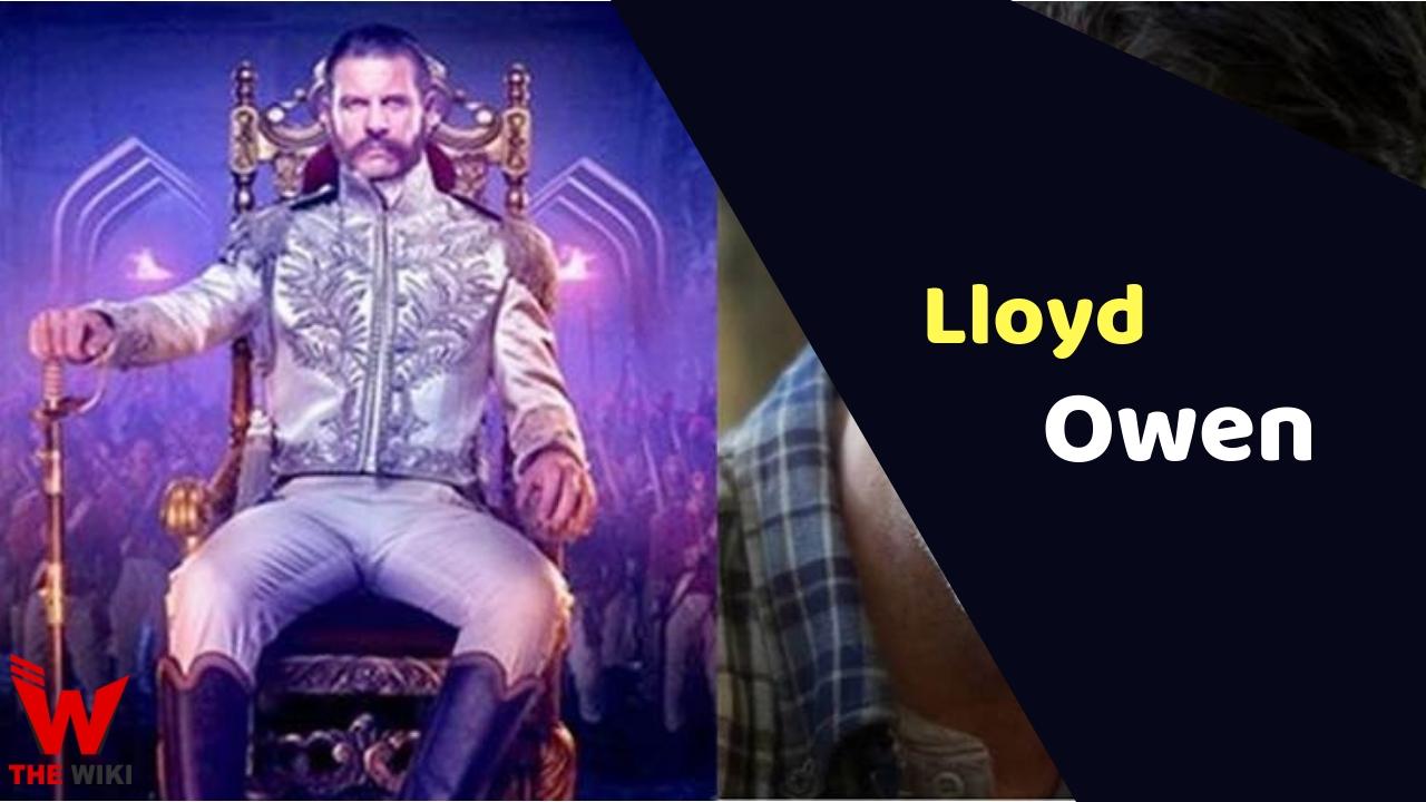 Lloyd Owen (Actor)