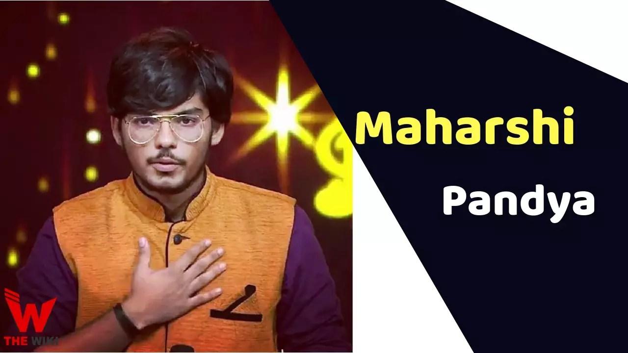 Maharshi Pandya