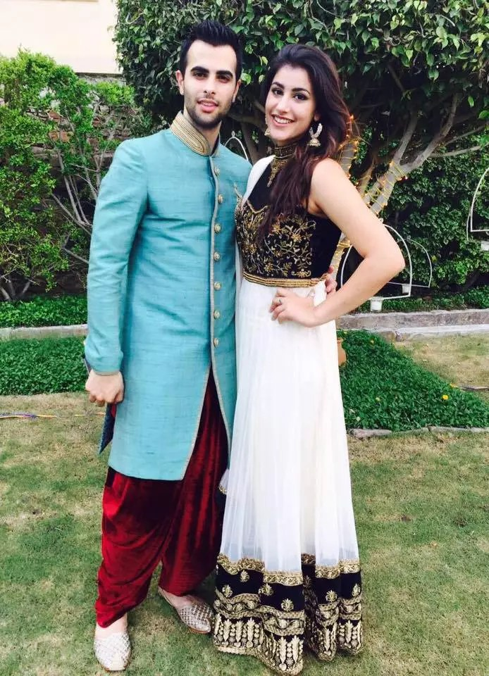 Ankur Rathee with Sister Sonia Rathee