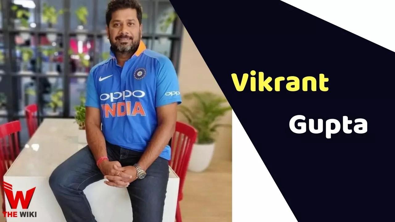 Vikrant Gupta (Anchor)