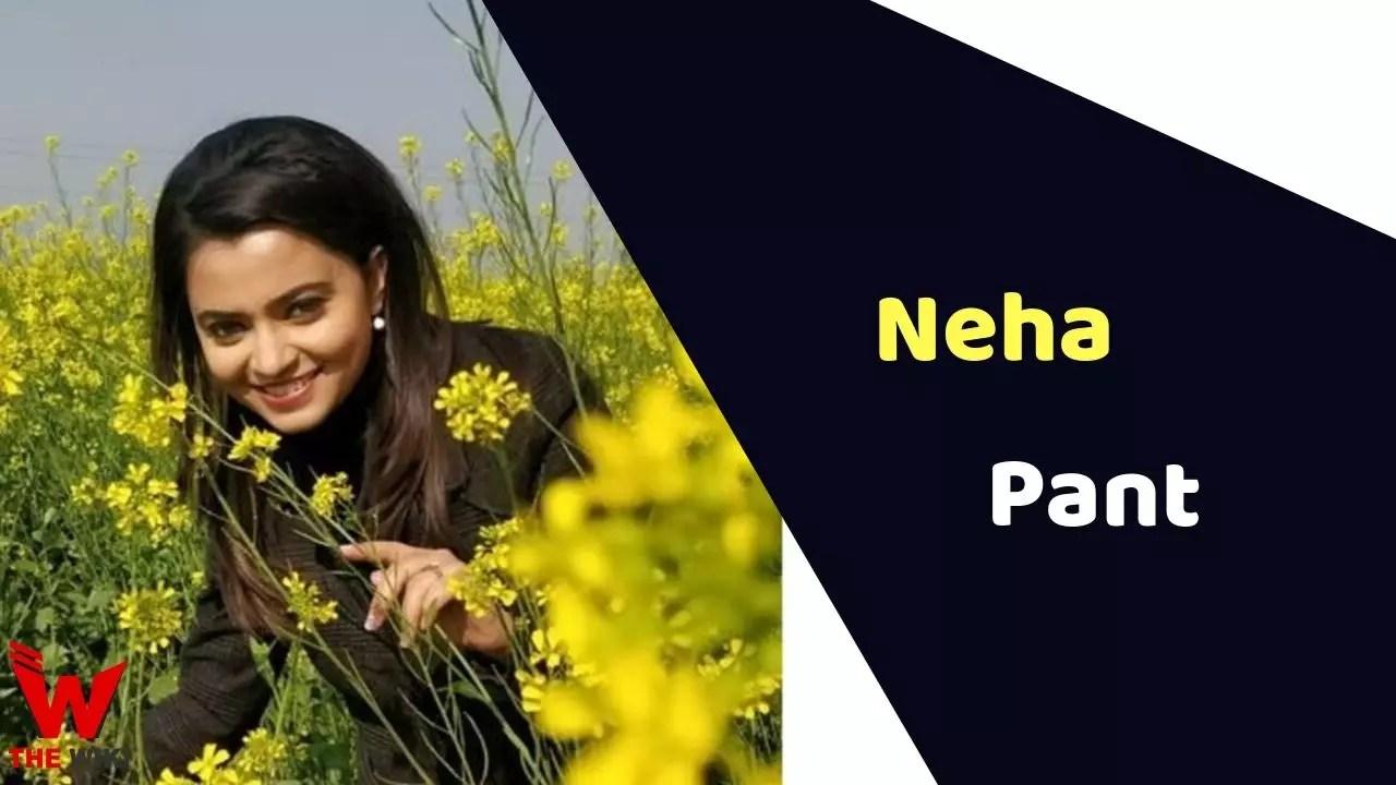 Neha Pant (News Anchor)