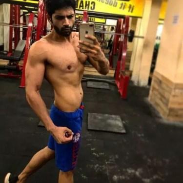 Ankit Bathla in Gym