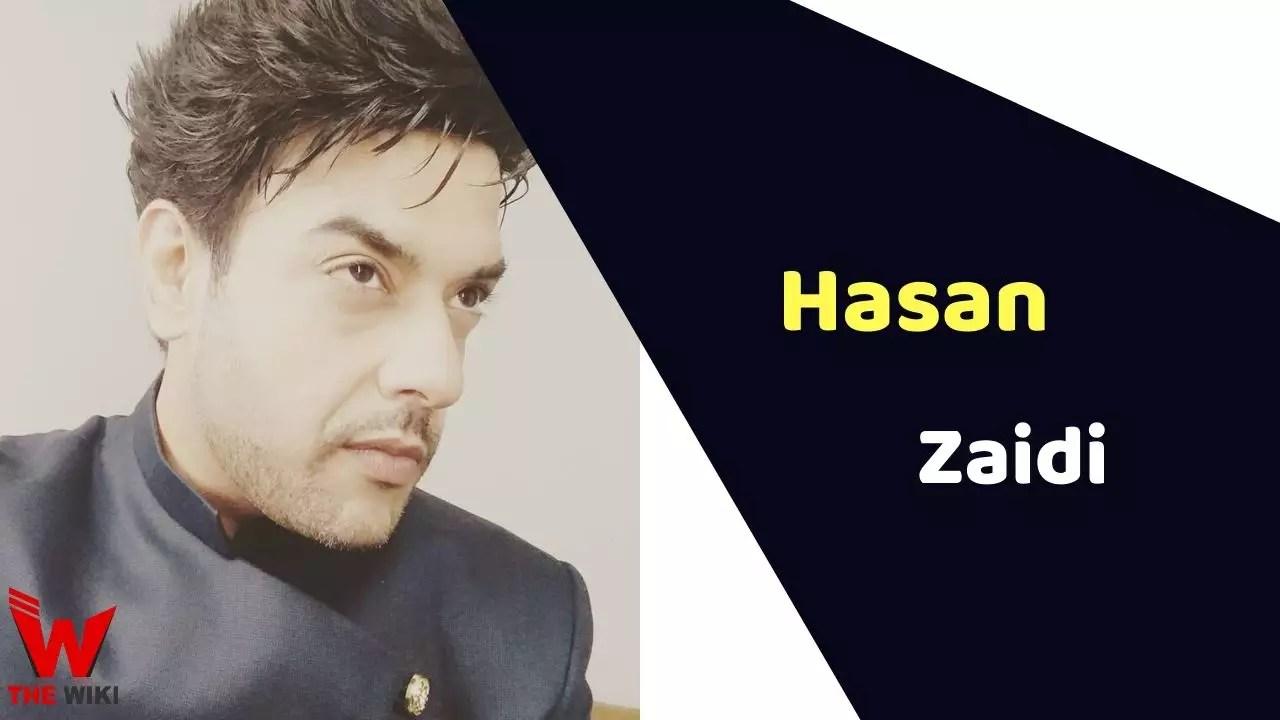 Hasan Zaidi (Actor)