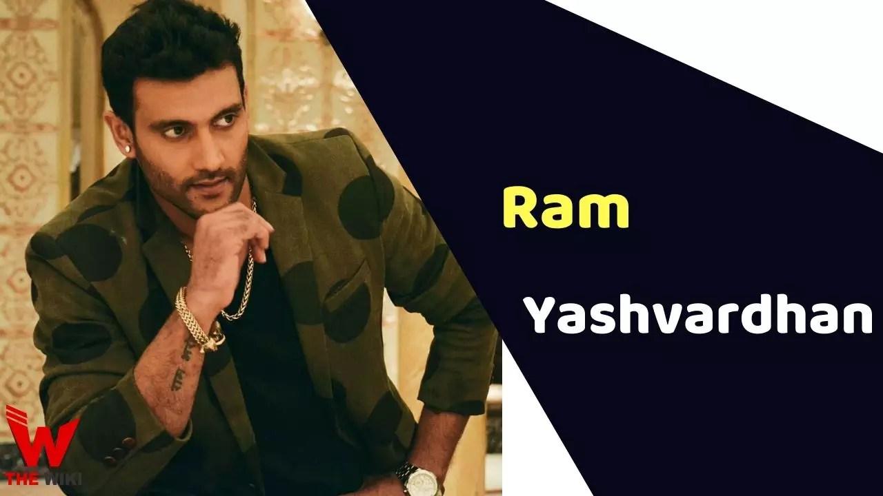 Ram Yashvardhan (Actor)