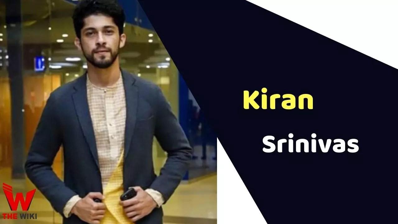 Kiran Srinivas (Actor)