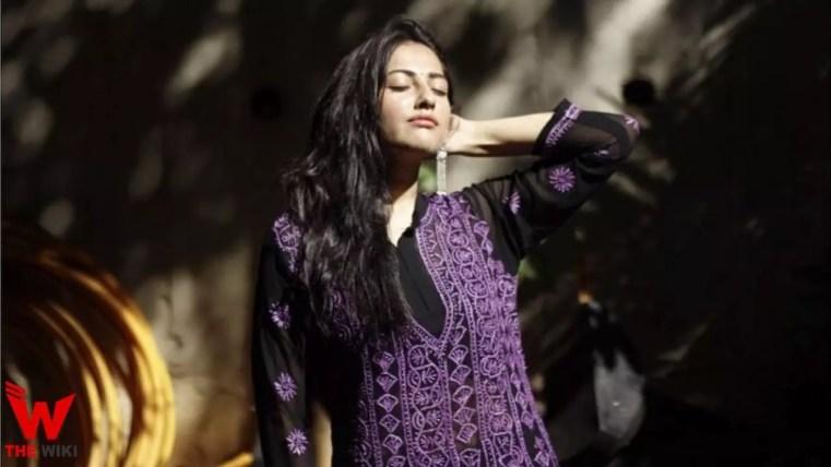 Anagha Bhosale (Actress)