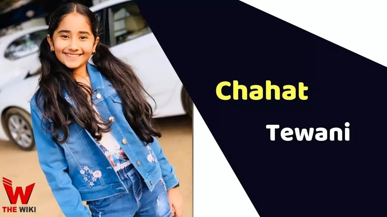 Chahat Tewani (Child Artist)