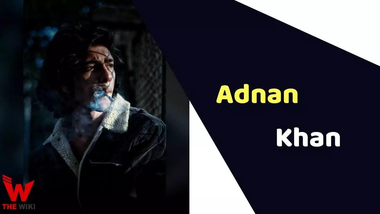 Adnan Khan (India's Best Dancer)