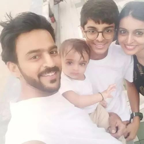 Mithil Jain Family