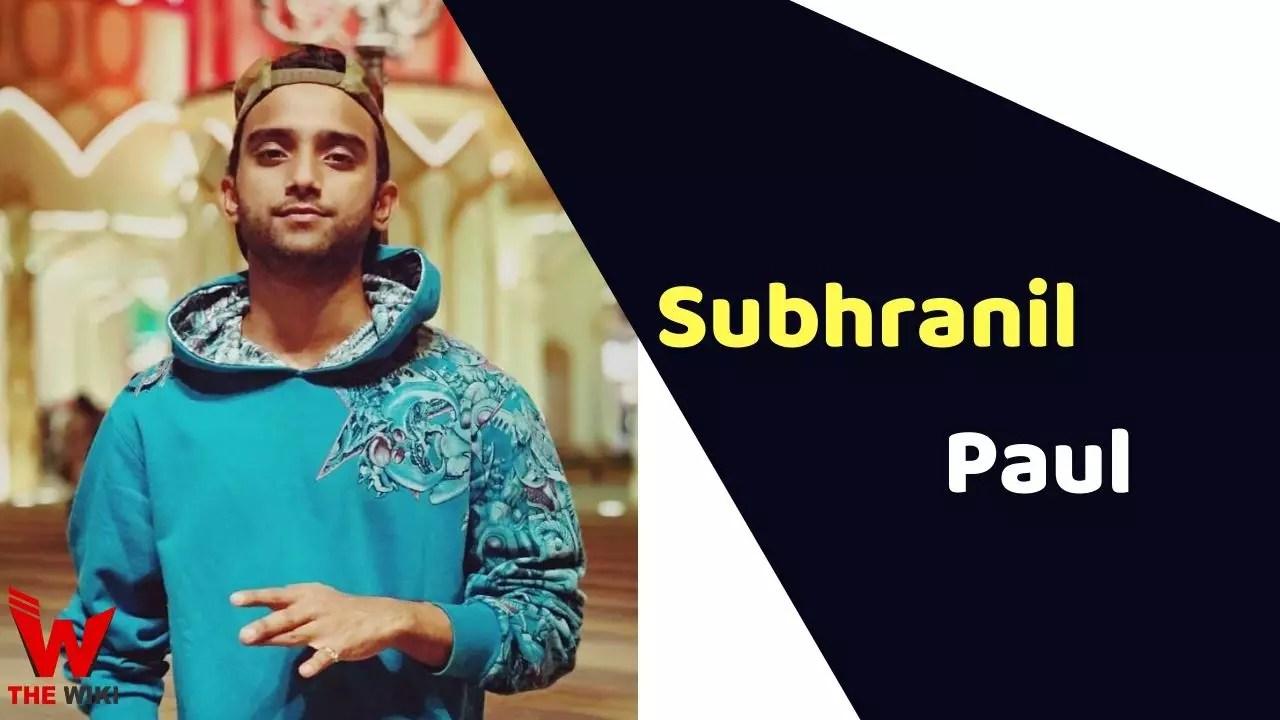 Subhranil Paul (India's Best Dancer)
