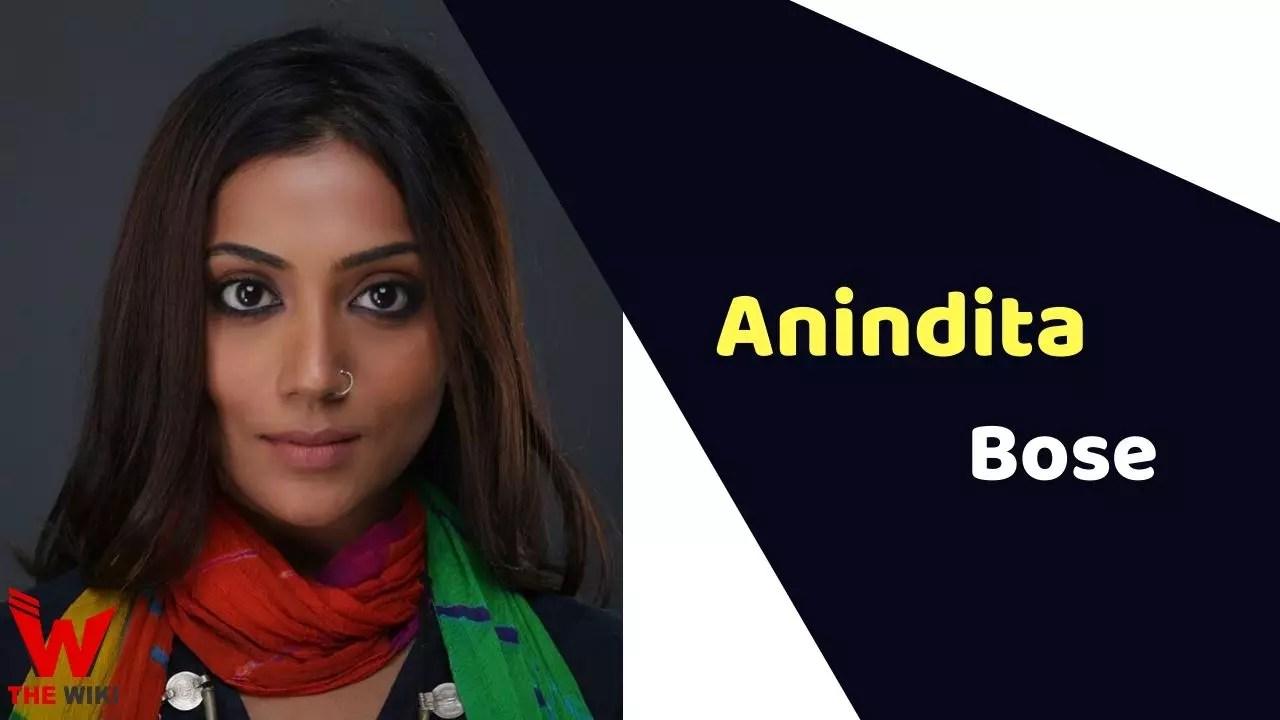 Anindita Bose (Actress)