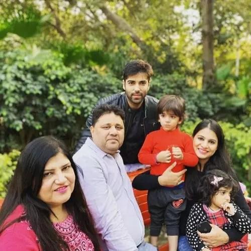 Kinshuk Mahajan Family