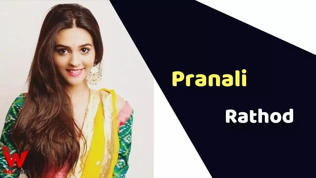 Pranali Rathod (Actress)