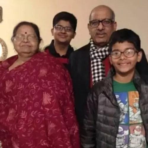 Sumit Awasthi Parents